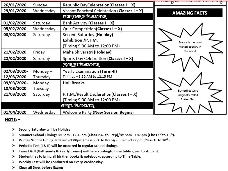 activity planner 1 to 10th 5
